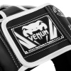 headgear box venum mma elite black white f6
