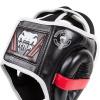 venum box mma elite headgear black red ice f2