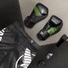 hayabusa boxerske rukavice t3 cerne zelene f3