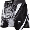 fightshorts venum devil white black f2