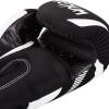 boxing gloves venum impact black white f3