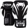 boxing gloves venum impact black white f2