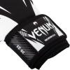 boxing gloves venum impact black white f4