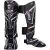 shinguard venum gladiator black white f1