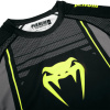 rashguard long venum technical 2.0 black yellow f5