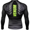 rashguard long venum technical 2.0 black yellow f4