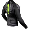 rashguard long venum technical 2.0 black yellow f3