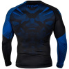 rashguard venum long sleeve nogi black blue f3
