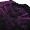 rashguard venum short sleeves nogi black purple f6