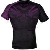 rashguard venum short sleeves nogi black purple f3