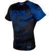 rashguard venum short sleeves nogi black blue f2