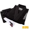 bjj gi kimono kids venum contender black f3
