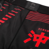 valetudo shorts venum okinawa black red f6