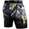 venum short compression viking 2.0 black yellow f4