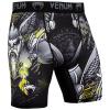 venum short compression viking 2.0 black yellow f2