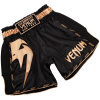 venum short muay giant black gold f1