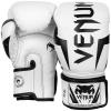 venum 0984 210 boxing gloves elite white black boxerske rukavice f2