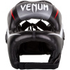 venum 03053 001 headgear iron elite black helma prilba boxing f2