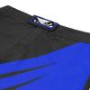 bad boy training series impact mma shorts black blue sortky f5