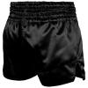 shorts venum muay thai classic black white f2