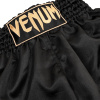 shorts venum muay thai classic black gold f3