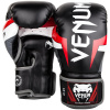 boxing gloves box venum elite black red grey f2