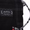 bjj kimono tatami estilo 6 black on graphite 13