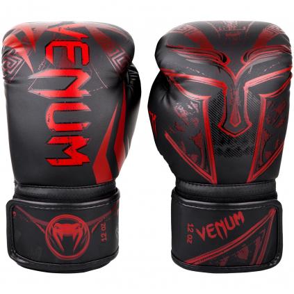 boxovaci rukavice venum gladiator black red box fightexpert f1
