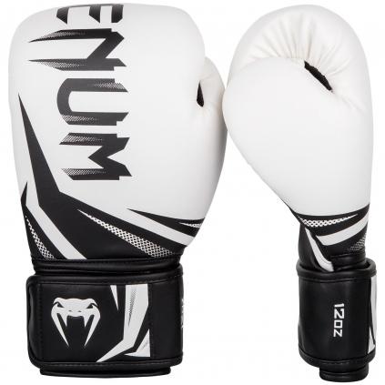 boxing gloves venum rukavice challenger 3.0 white black f1