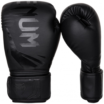 boxing gloves venum rukavice challenger 3.0 black black f1
