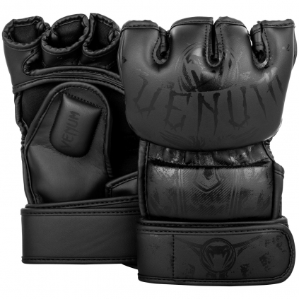 mma gloves venum gladiator black black f1