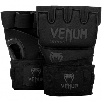 gel gloves venum kontact black black f1