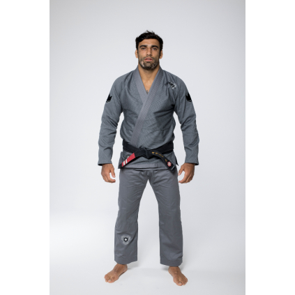 bjj gi kimono kingz nano2 grey sede jiu jitsu f1