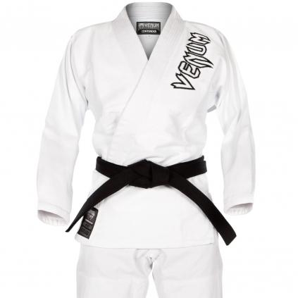 bjj kimono gi venum white contender f1