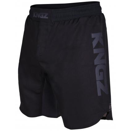 kingz competition crown black mma shorts nogi f1