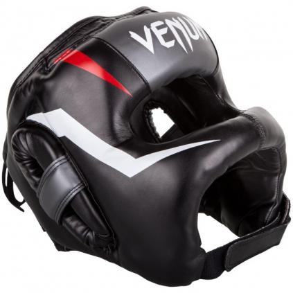 venum 03053 001 headgear iron elite black helma prilba boxing f1