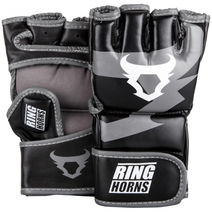 rh 00007 001 mma gloves charger black rukavice f1