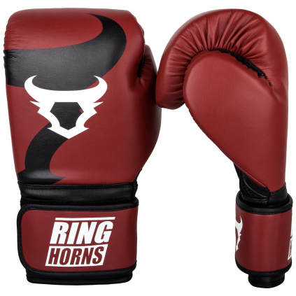 rh 00001 003 10 ringhorns boxing gloves rukavice charger red black f1
