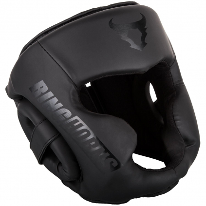 rh 00021 114 headgear prilba helma ringhorns charger black black f1