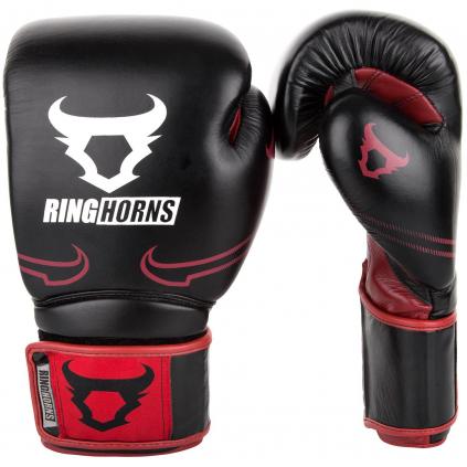 rh 00003 100 ringhorns rukavice boxerske bosing gloves destroyer black red f1