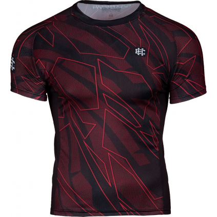 Pánské sportovní tričko Extreme Hobby SHADOW - krátký rukáv - červené