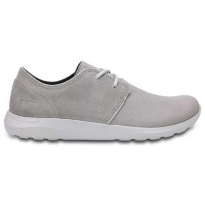 crocs kinsale 2 eye shoe m charcoal pearl 1