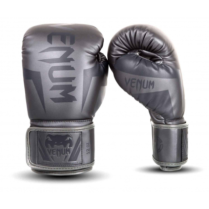 boxerske rukavice elite grey