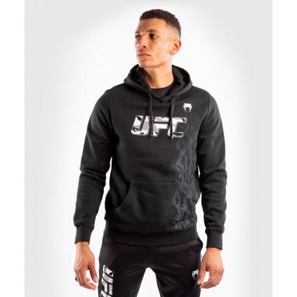 pullover hoodie men´s panska pullover mikina ufc venum fight week black f1