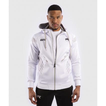 ufc mikina hoodie venum pro line white f1
