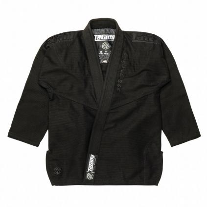 tatami black label white gi kimono bjj cerne black f1