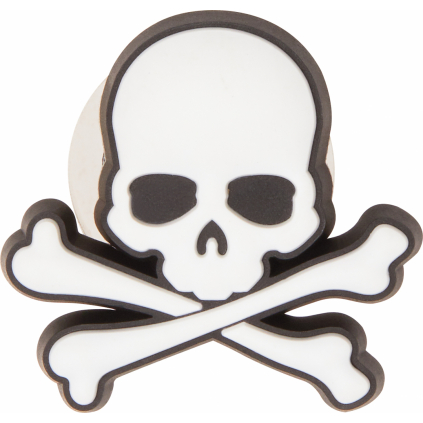 Crocs Odznáček Jibbitz - Skull & Crossbones