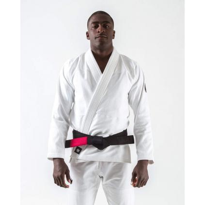 bjj gi kimono jiu jitsu kingz kore white bile f1