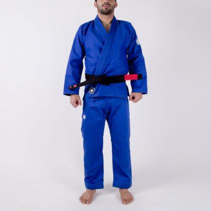 bjj gi kimono jiu jitsu kingz kore blue modre f1