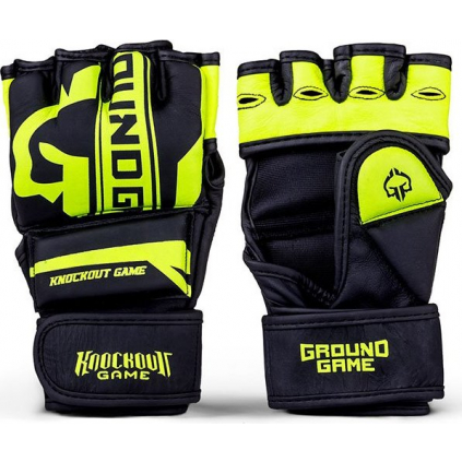 MMA rukavice Ground Game STRIPE NEON